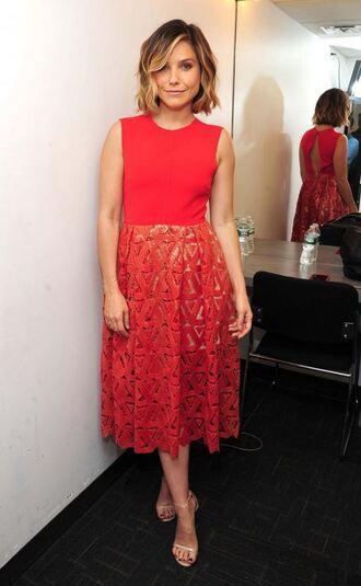 dress lace dress midi dress sophia bush