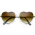 Womens Cute Metal Heart Shape Fashion Sunglasses 8796                           | zeroUV