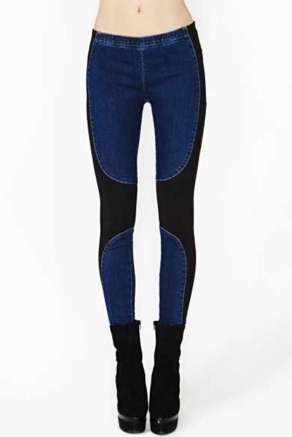 jeans clothes clothes fall outfits urban black blue dark dark colours dark blue denim jeggings jeggings skinny jeans skiny jeans jeans jeggings boots shoes platform shoes platform shoes high tops