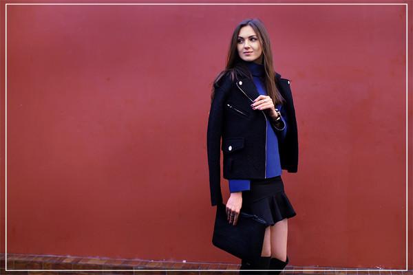 fashion agony jacket sweater skirt shoes bag jewels