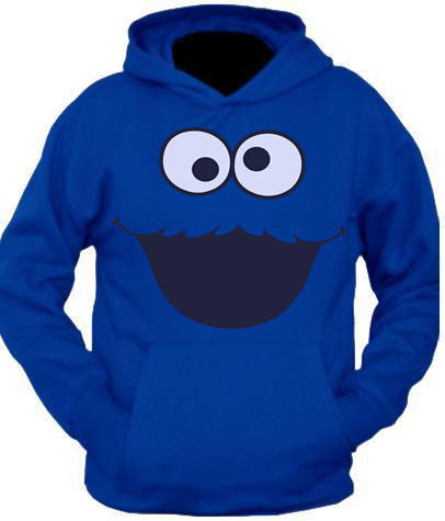 COOKIE MONSTER ROYAL HOODIE XS, S,M,L,XL | eBay