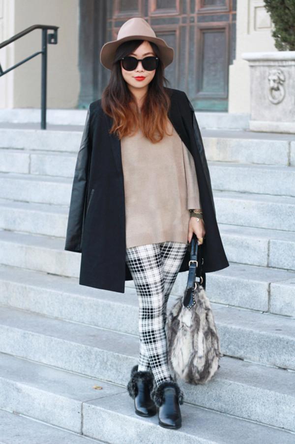 it's not her it's me sweater pants coat hat bag shoes sunglasses jewels
