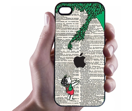 iPhone 5  Giving Tree Illustration iPhone 5 Case - Hard Plastic Cell Phone Case