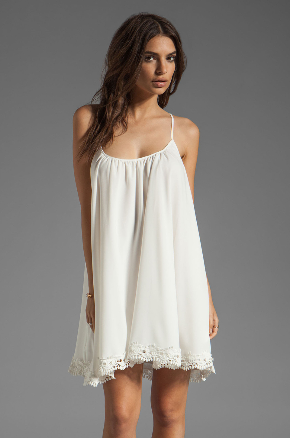 Lovers   Friends Sunshine Dress in White & Lace | REVOLVE