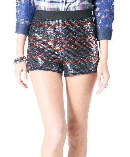 Tribal sequin shorts | My style