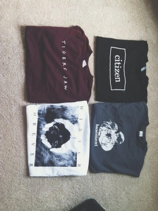 shirt t-shirt shirt tigers jaw winter forever citizen tank top