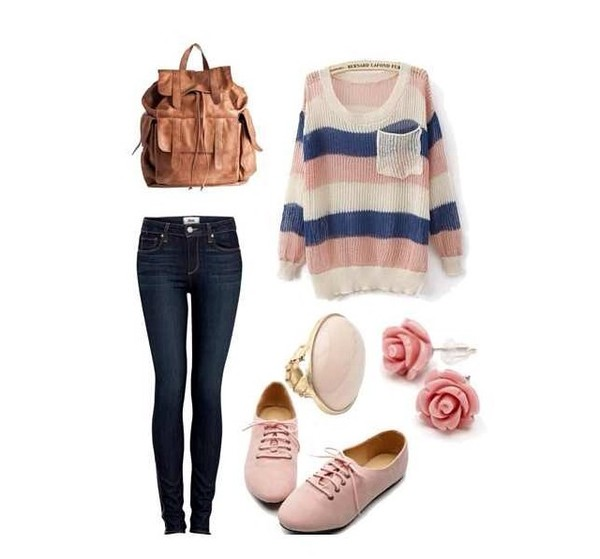 shirt colorful celebrity style steal idea fashion jewels sweater
