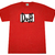 Simpsons Duff Logo Graphic TEE Shirt RED | eBay