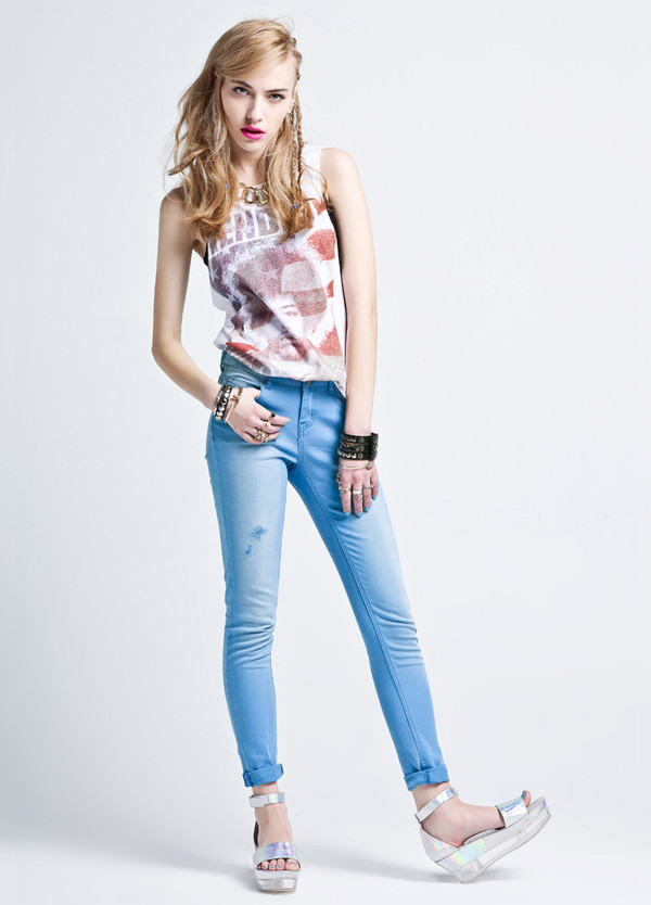 jeans rock swag cool teenagers skinny jeans summer outfits streetstyle casual