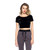 Crush On You Crop Top (Black) | Vanity Row