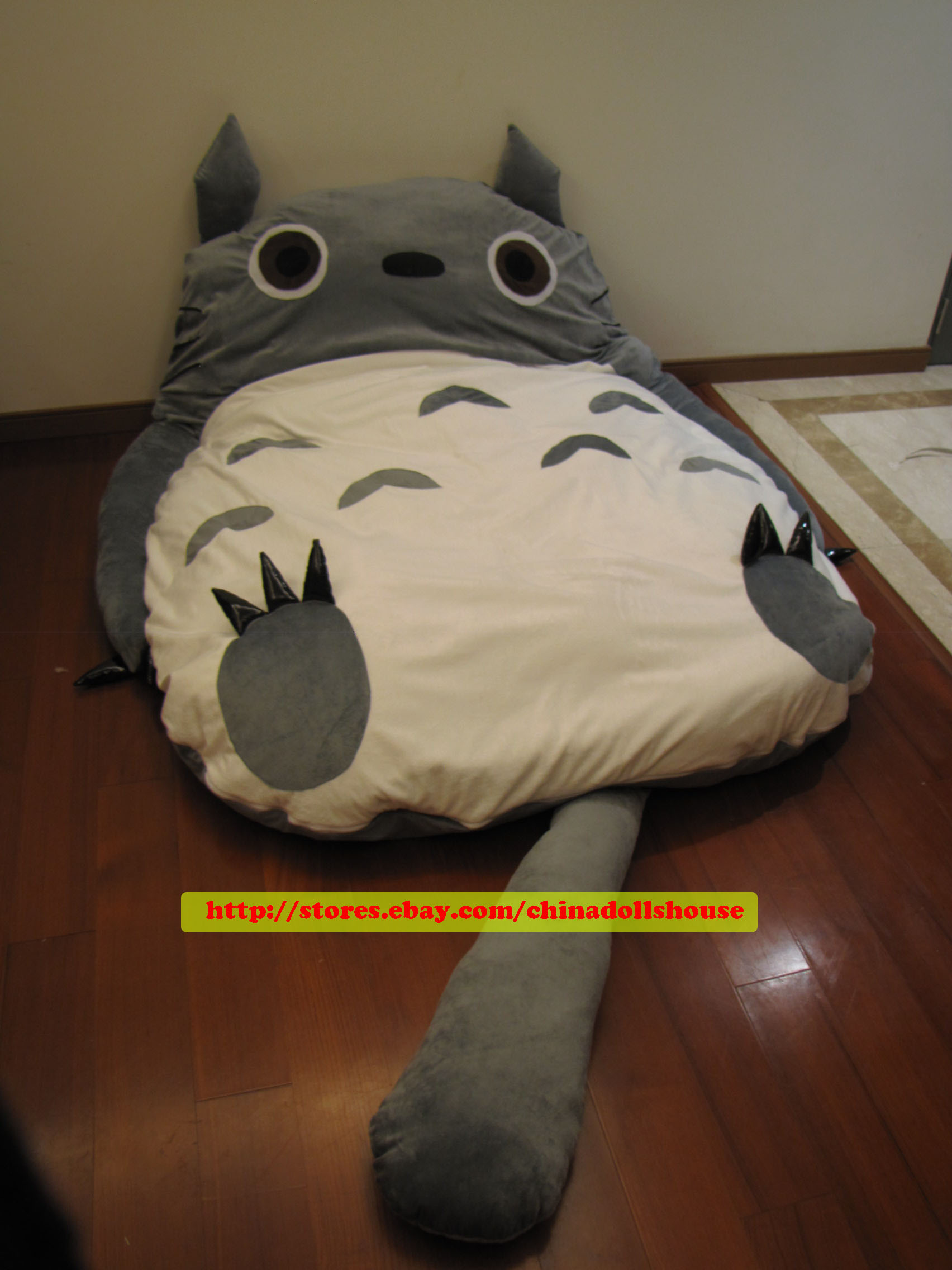 Huge Cute 2011 Models 220cm Totoro Bed Sleeping Bag Sofa