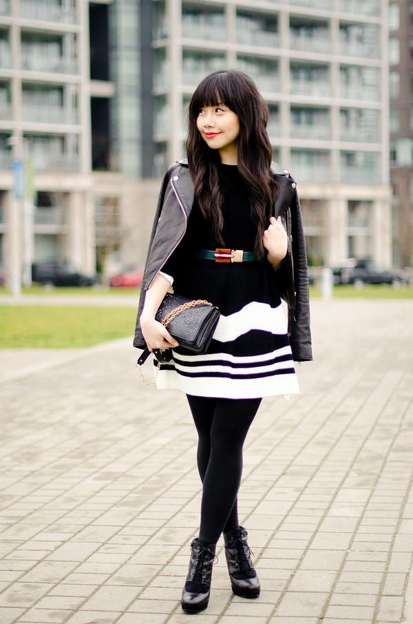 her waise voice dress jacket belt shoes bag