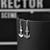 Slim Anchor Drop Silver Earrings | Vavoo