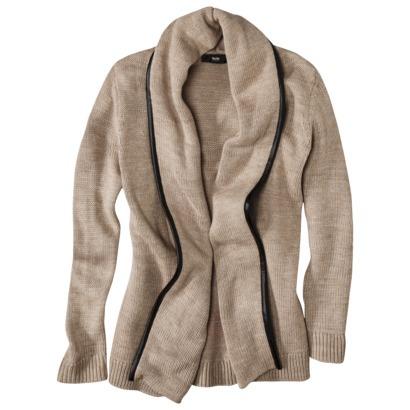 Mossimo® Women's Open Sweater - Oatmeal : Target