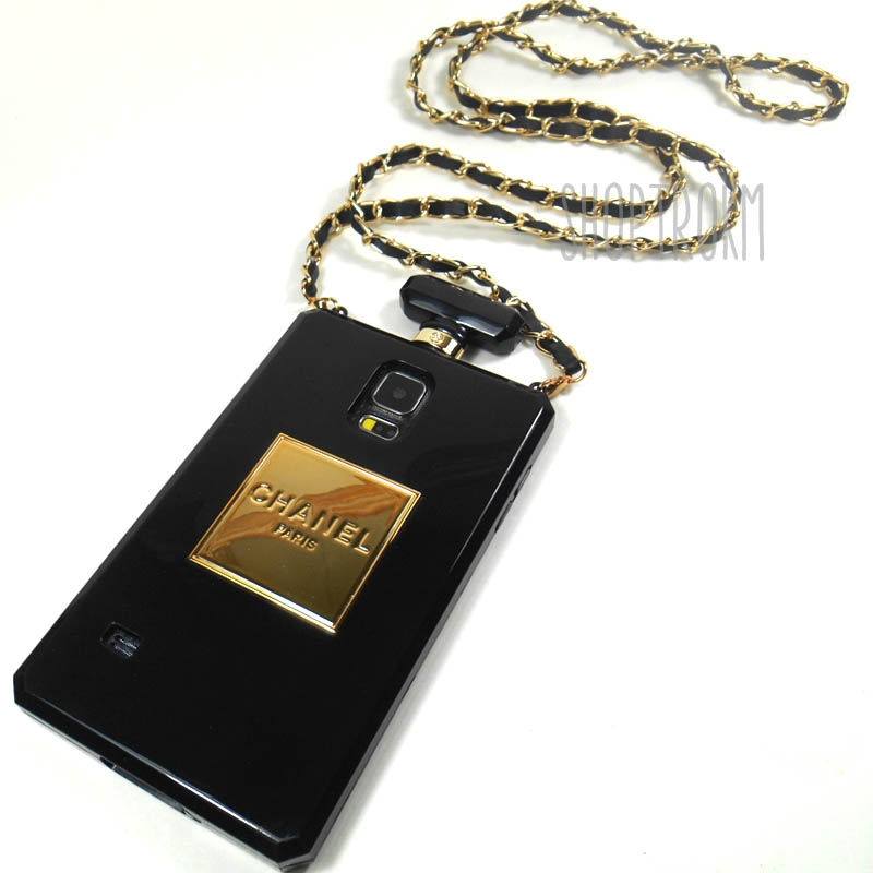 Look So Good Black Gold TPU Cover Case For The Galaxy S5 Phone With Matching Crossbody