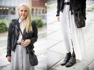 elenita jacket belt bag shoes