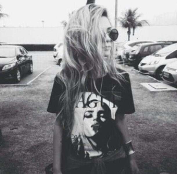 t-shirt vogue top grunge