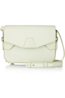 Tri-Fold glow-in-the-dark leather shoulder bag | THE OUTNET