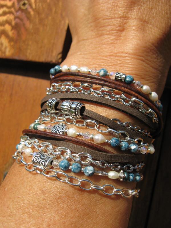 jewels boho suede bracelet leather wrap multi strand bracelet leather wraps