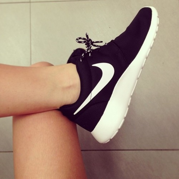 shoes nike nikes black