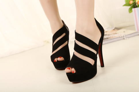 Open Toe Cut Out High Heels · Zmart · Online Store Powered by Storenvy