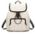 Preppy Style PU Backpack in White [FPB741] - PersunMall.com