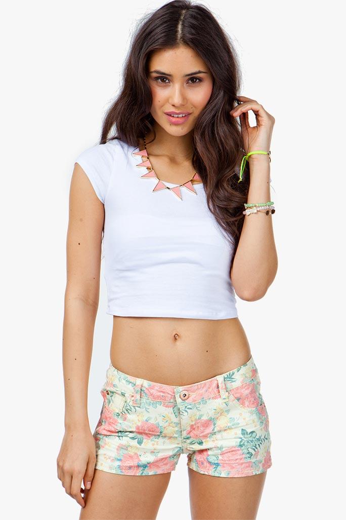 Bright Calypso Floral Short