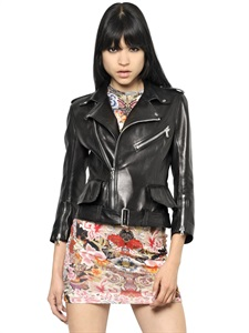 LEATHER JACKETS - ALEXANDER MCQUEEN -  LUISAVIAROMA.COM - WOMEN'S CLOTHING - SPRING SUMMER 2014