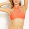 Neon macramé bikini top | forever21 - 2000070433