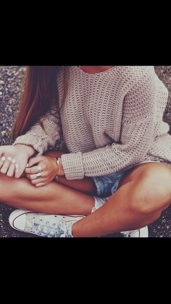 sweater oversized white sweater tumblr