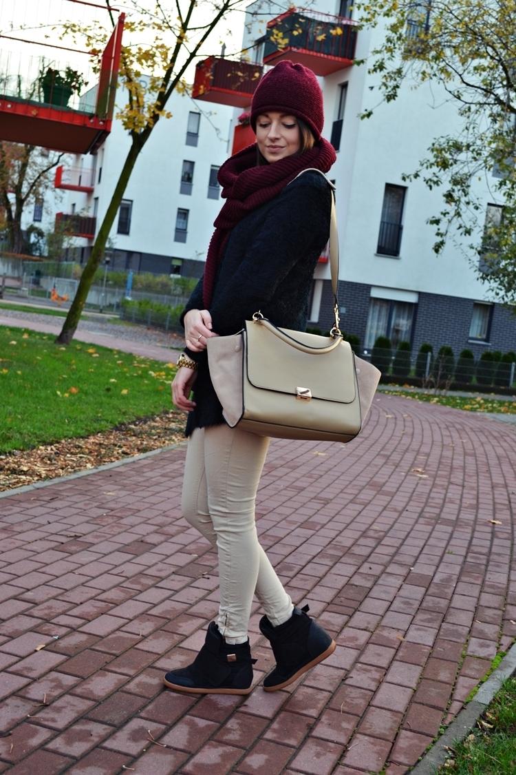 Europe Color Block Bat Wings Handbag [FPB470]- US$58.99 - PersunMall.com