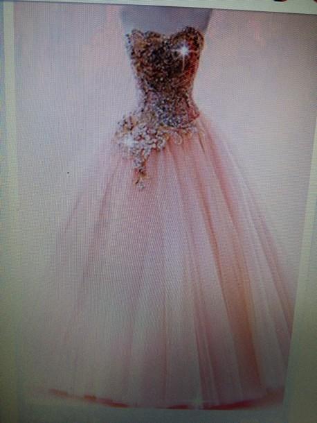dress peach