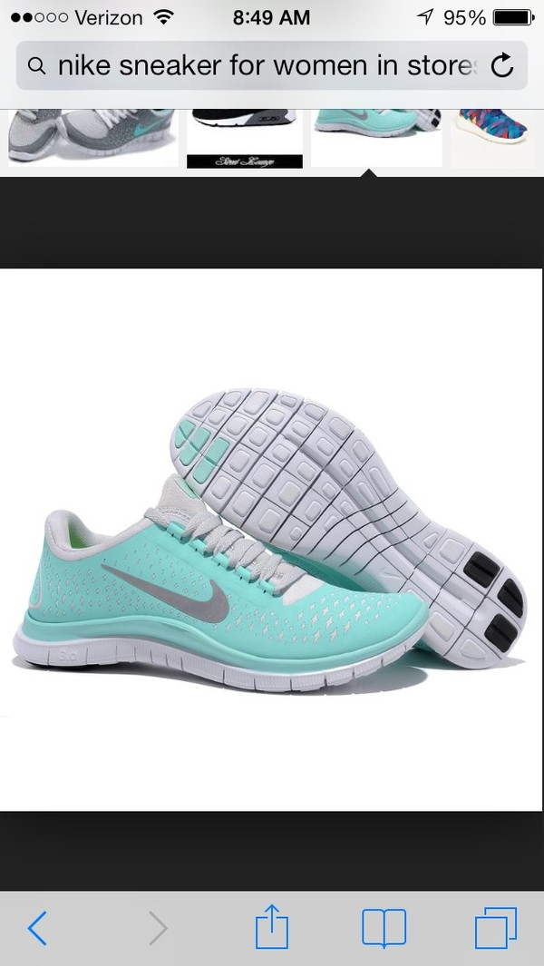 shoes nike sneakers mint green shoes