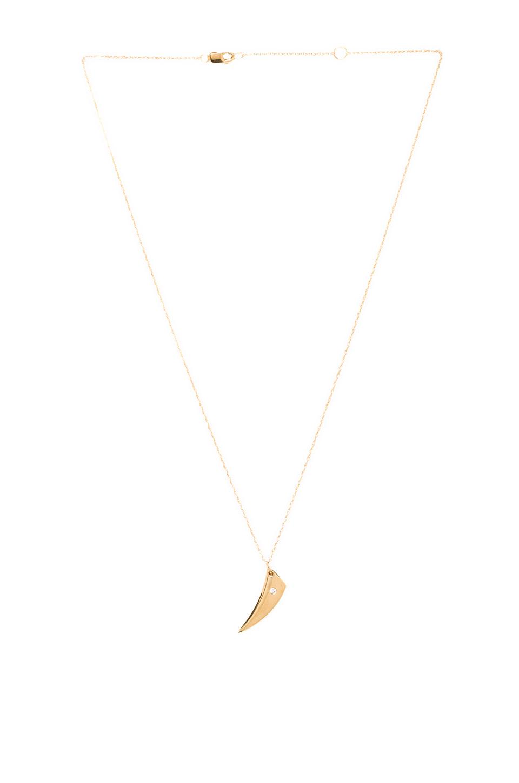 Jennifer Zeuner Hunter Small V Necklace in Yellow | REVOLVE