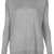 Knitted Jumper With Woven Back - Topshop