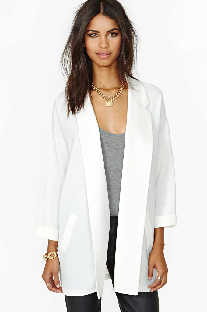 Cool Desire Blazer in  Clothes Sale at Nasty Gal