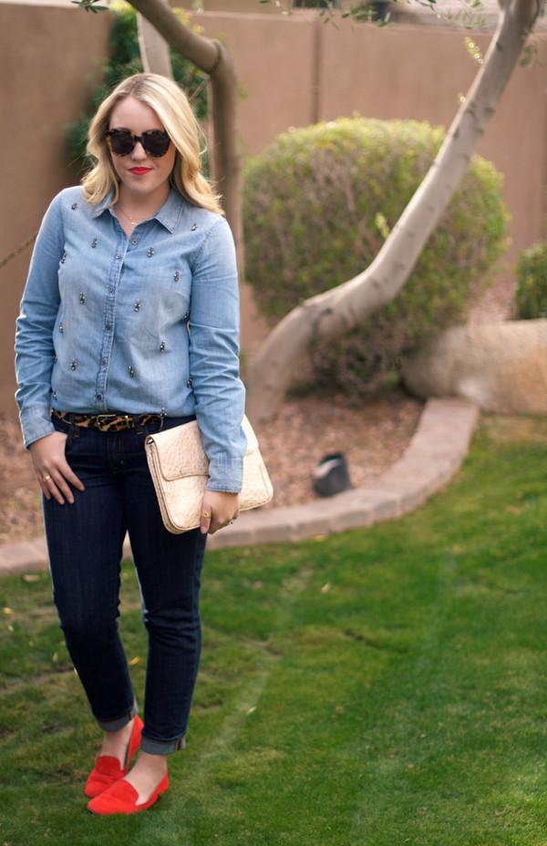 a beautiful heart t-shirt jeans belt sunglasses bag shoes jewels