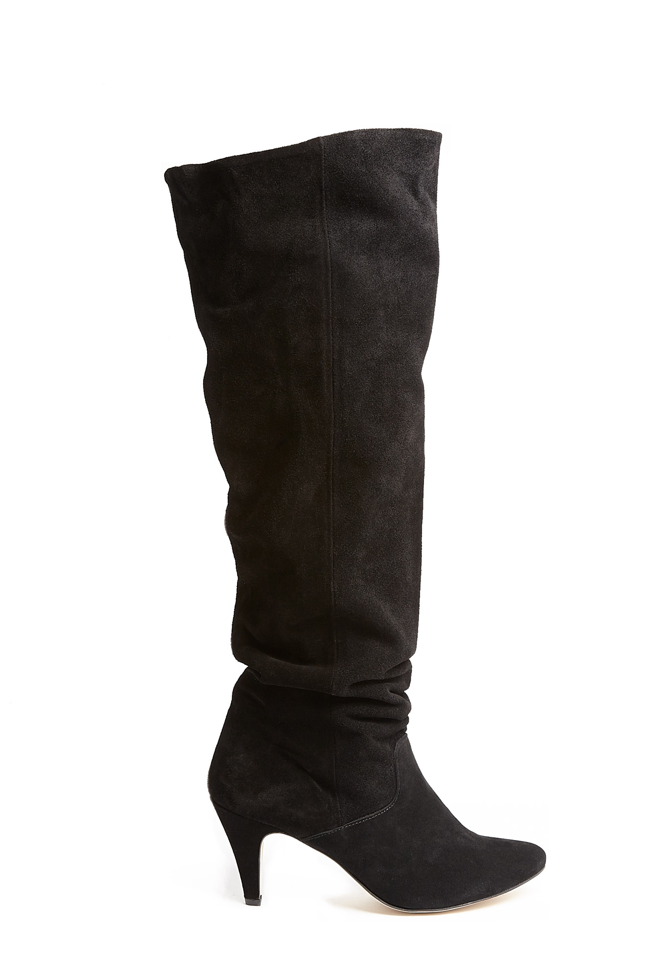 Ganni   Over The Knee Suede Boot by Ganni