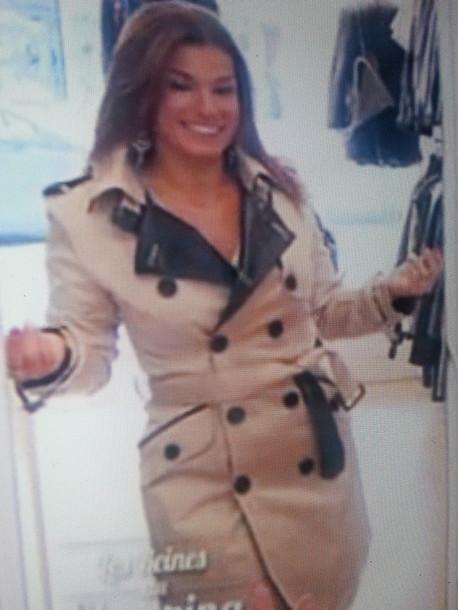 jacket trench coat beige jacket