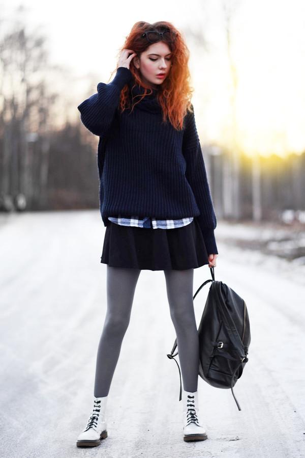 ebba zingmark sweater shirt skirt