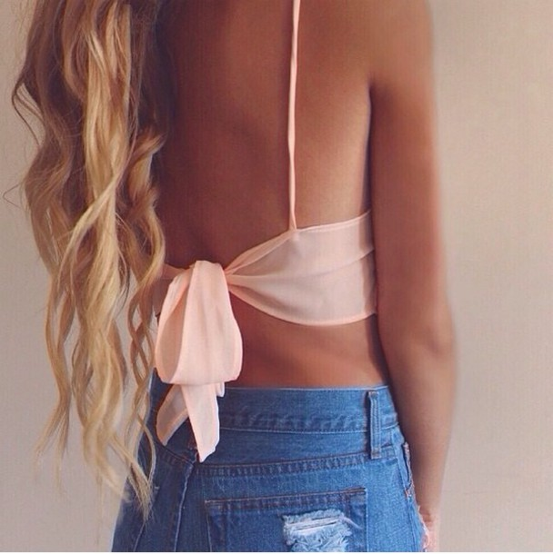 top baby pink