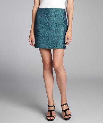 Elie Tahari black silk paillette covered 'Alexis' mini skirt | BLUEFLY up to 70% off designer brands