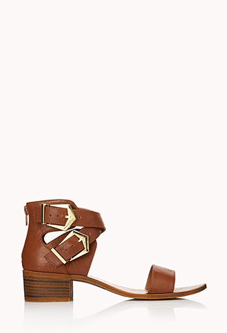 Must-Have Buckled Sandals | FOREVER21 - 2000090689