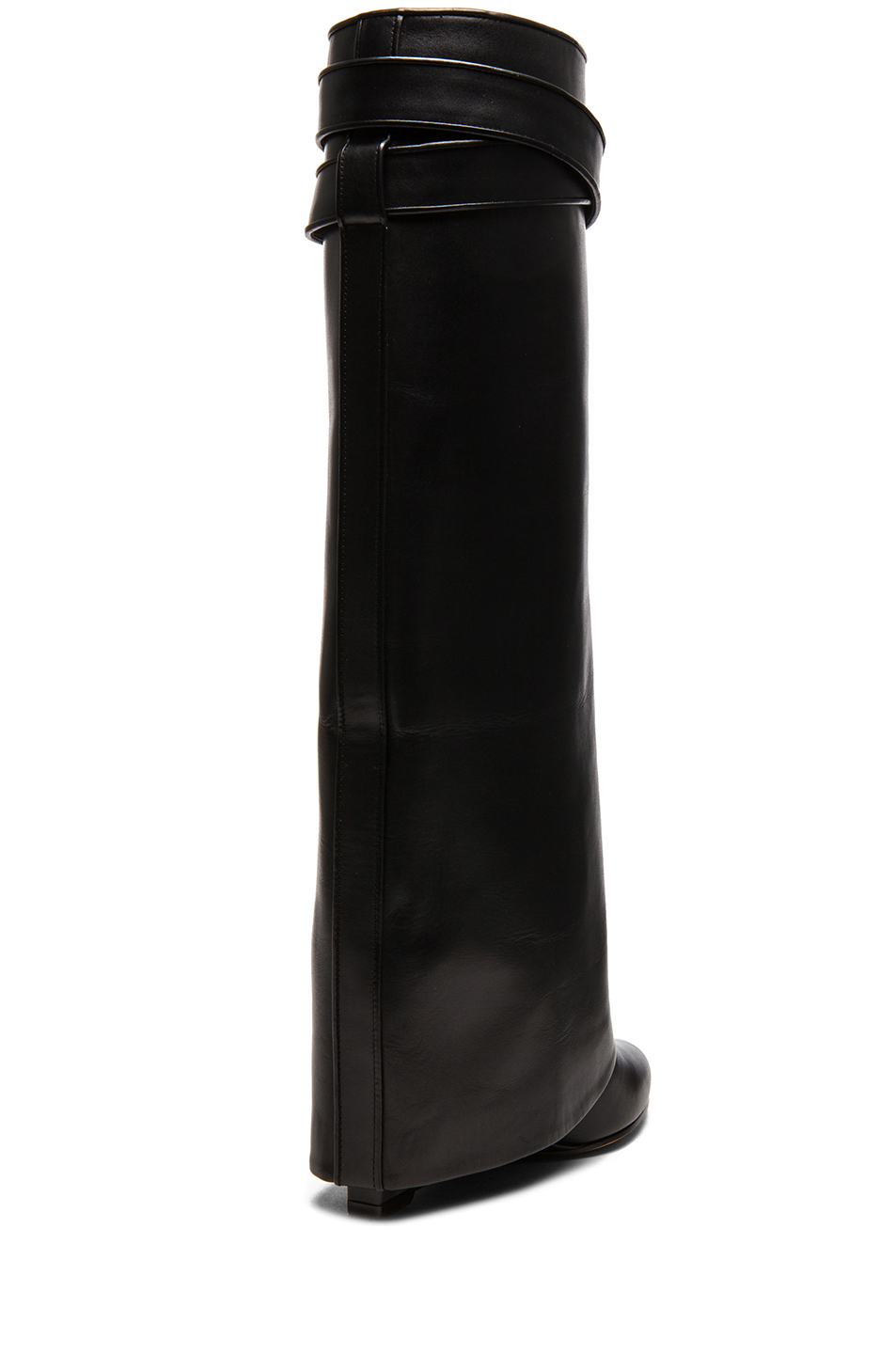 GIVENCHY Shark Lock Wedge Boot in Black