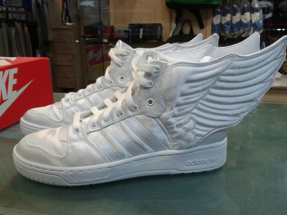 Adidas Jeremy Scott Wings 2 0 Satin Originals ObyO Trainers UK7 EU40 2 3 US7 5 | eBay