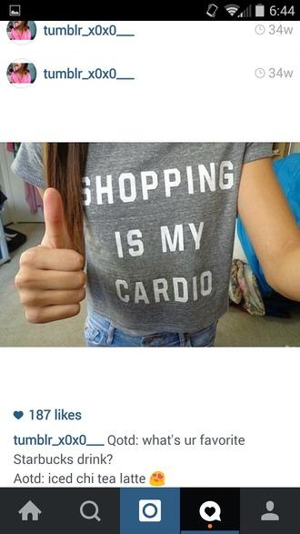 top shopping shirt t-shirt graphic tee girly