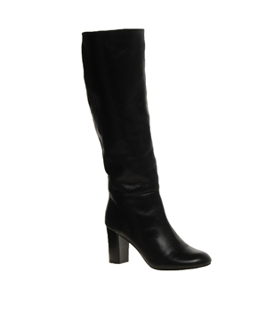 ASOS | ASOS COOPER Leather Knee High Boots at ASOS