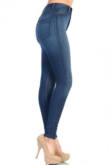 OMG High Waist Blue Jean