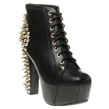 Jeffrey Campbell Lita Spike Boots - Women - SOLETRADER OUTLET