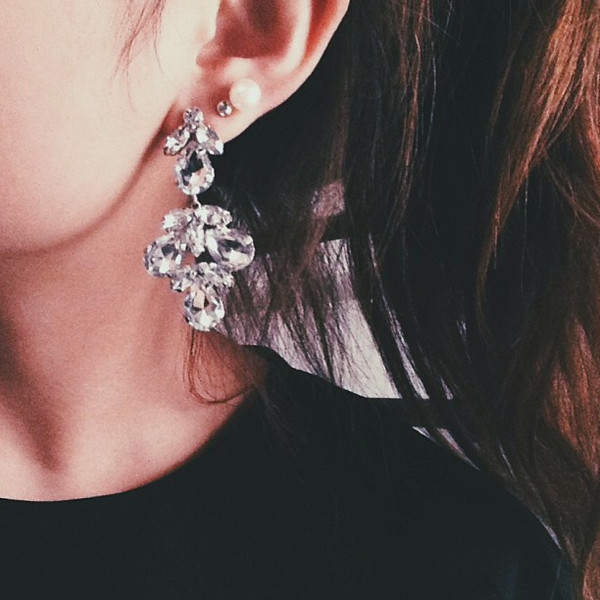 jewels emoda earrings silver statement earrings